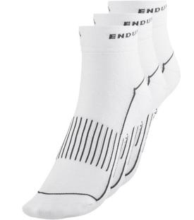 nogavice endura coolmaxrace ii sock 3-pack white